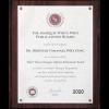 山崎顧問が「2020年アルバート・ネルソンマーキス生涯功労賞」を受賞しました。